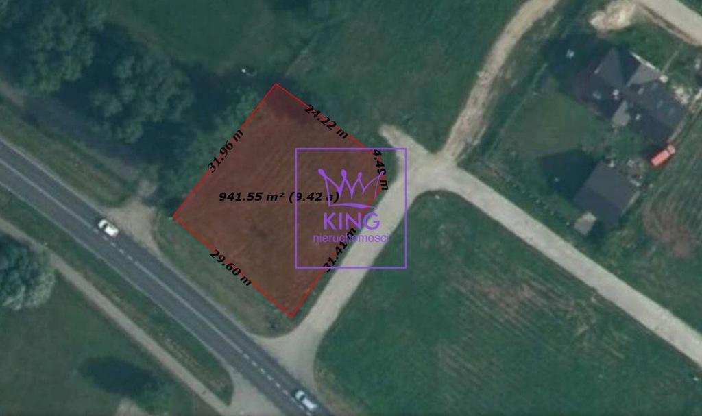 Działka, Dołuje, Dobra (Szczecińska) (gm.)939 m²
