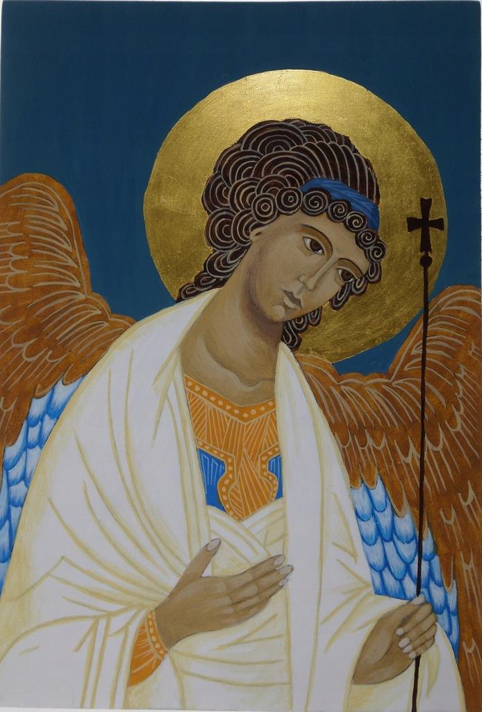 Anioł Stróż (2), złoto 23 3/4 k.