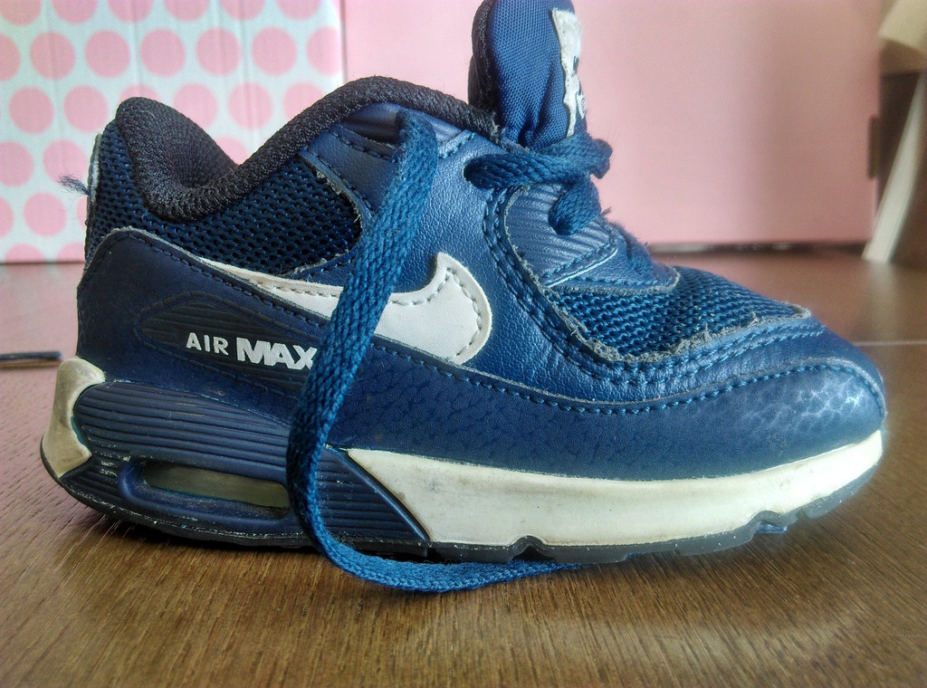 Buciki sportowe NIKE Air Max, rozm. 23,5, 13 cm