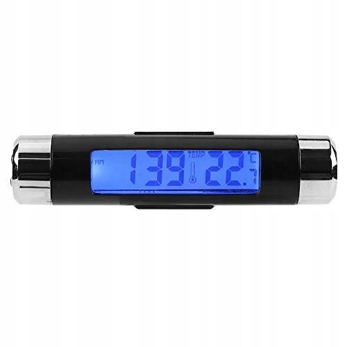 Termometr zegarowy Qiilu, wielofunkcyjny automatyc