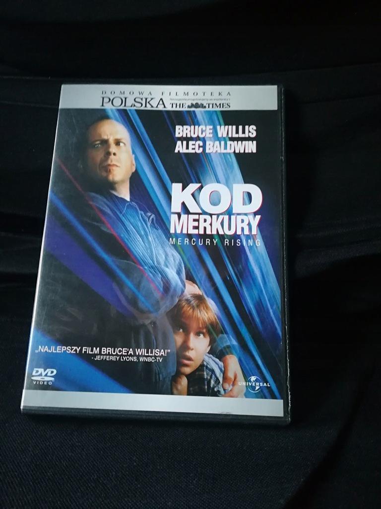 Kod merkury [Bruce Willis] [DVD]