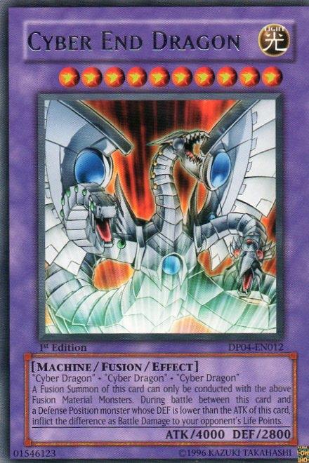 Karta YU-GI-OH - Cyber End Dragon