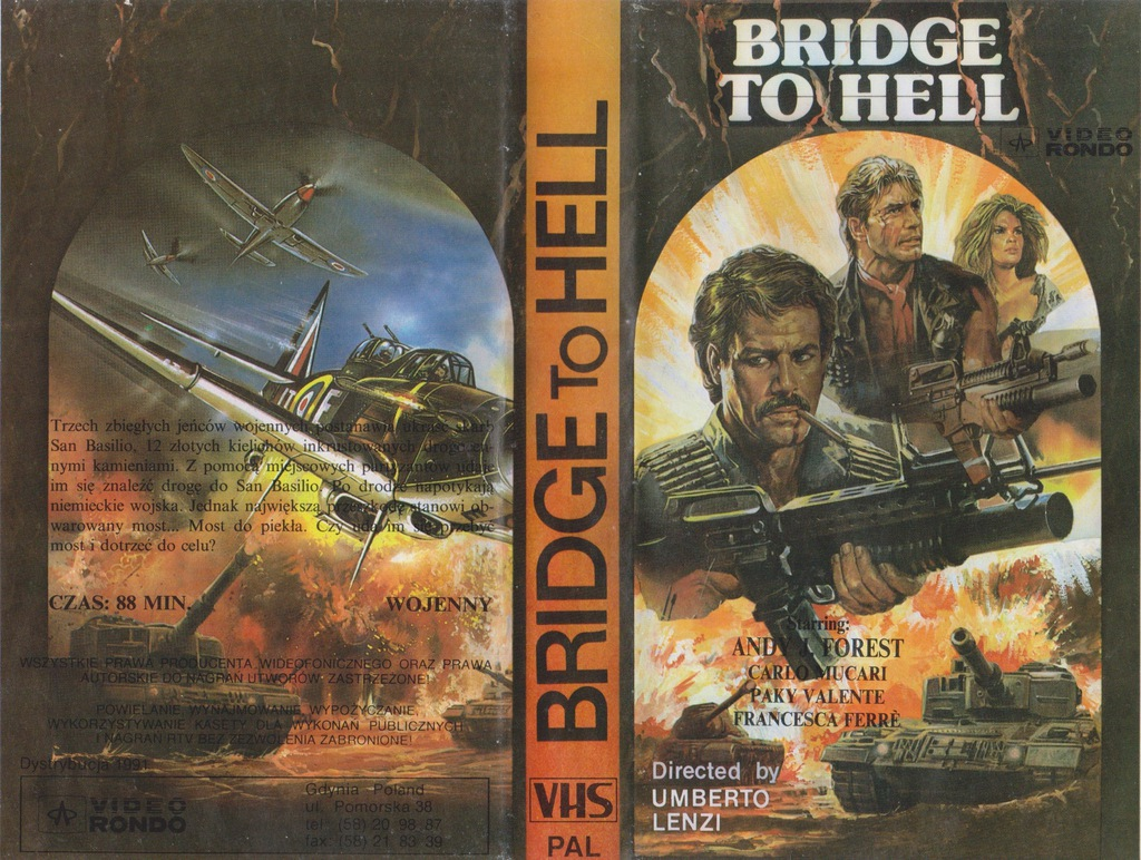 BRIDGE TO HELL - VHS 54KA
