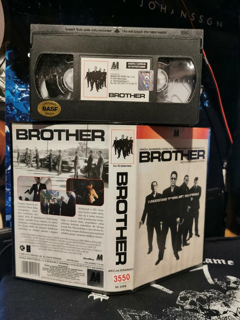 Brother VHS Monolith Takeshi Kitano