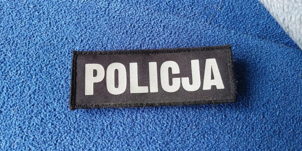 policja odblask mały