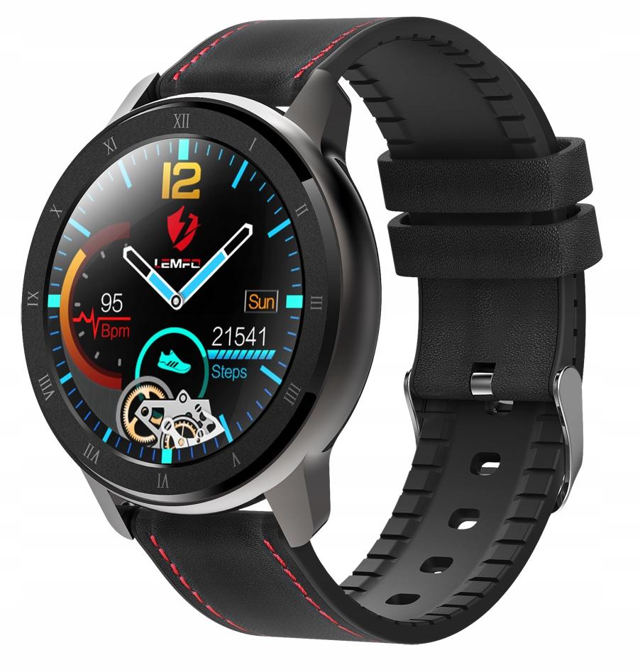 Zegarek SmartWatch ciśnieniomierz EKG 360x360 5.0