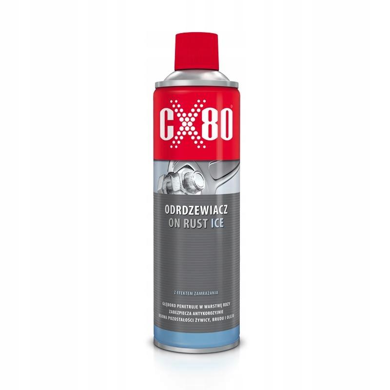 CX80 ON RUST ICE Odrdzewiacz zamrażający 500ml