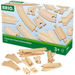 Zestaw torów pośrednich BRIO 33402
