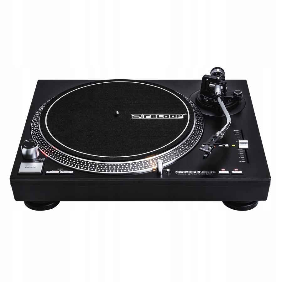 Gramofon Reloop RP-4000 MK2 + Headshell + OM Black