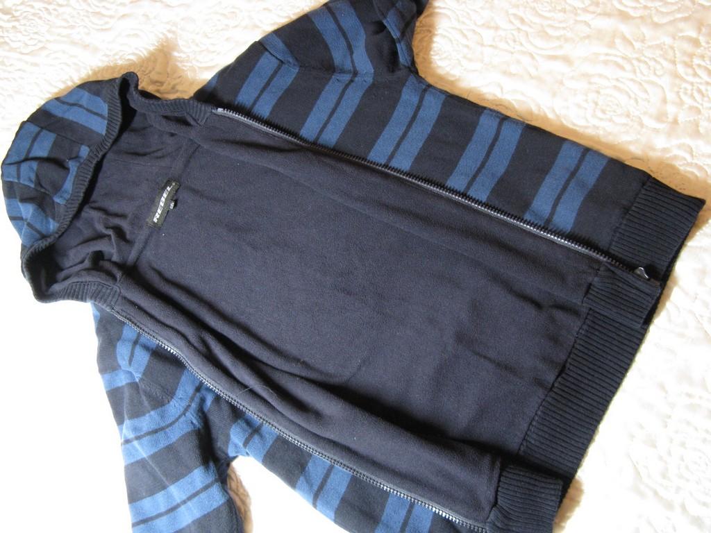 SUPER bluza sweter kurtka z polarem wiosna 140 146
