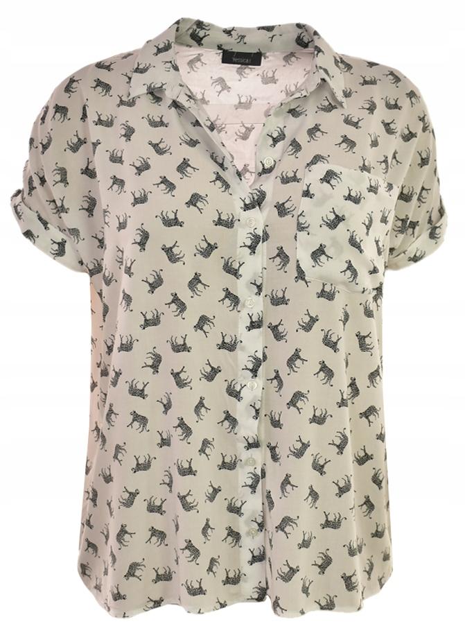 kAH6600 C&A wiskozowa koszula 40