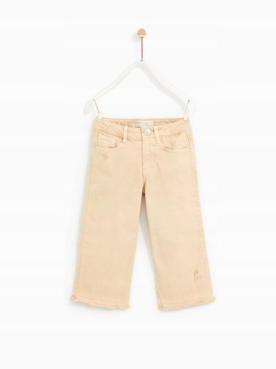 spodnie kuloty zara dzieciece