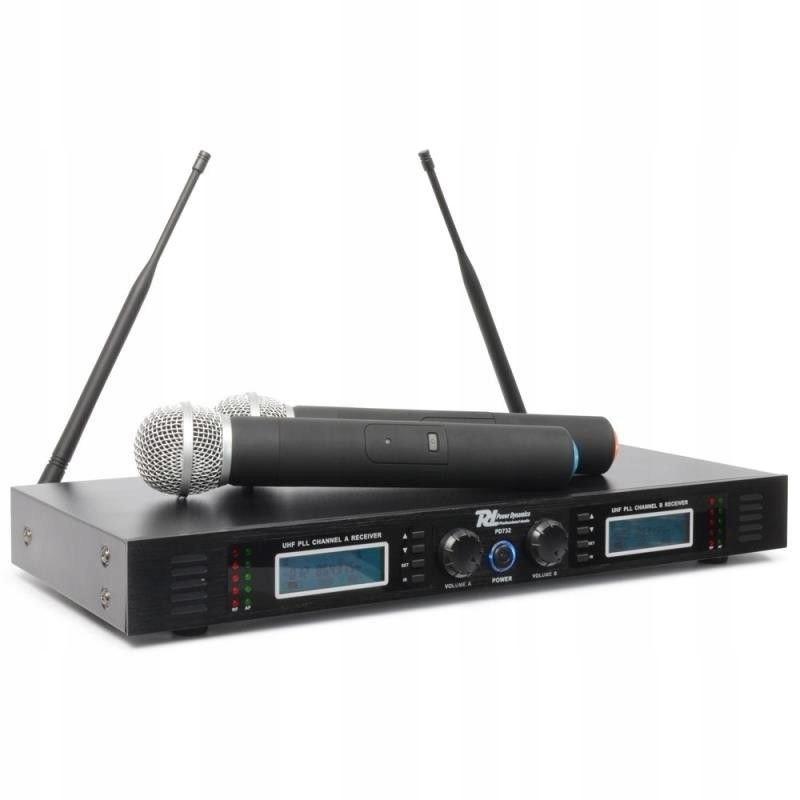Bezprzewodowy Zestaw mikrofonów UHF z walizką