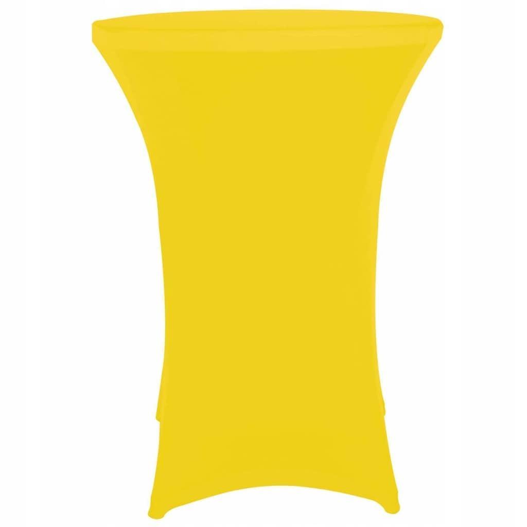 Perel Pokrowiec na stolik barowy, żółty, FP205
