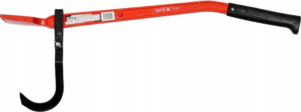 Dźwignia z hakiem do odwracania pni 830mm YT-79901