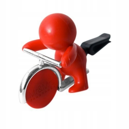 Mr&Mrs GINO Scent for Car, Red, with magnetic
