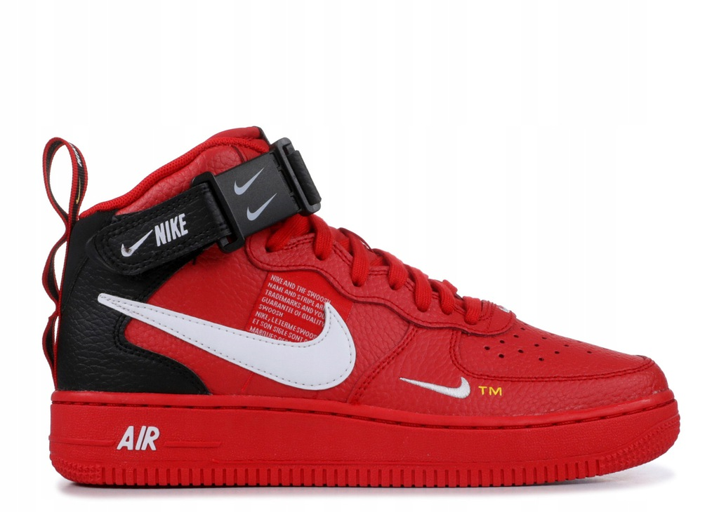 Nike Air Force 1 Mid Utility Red r42