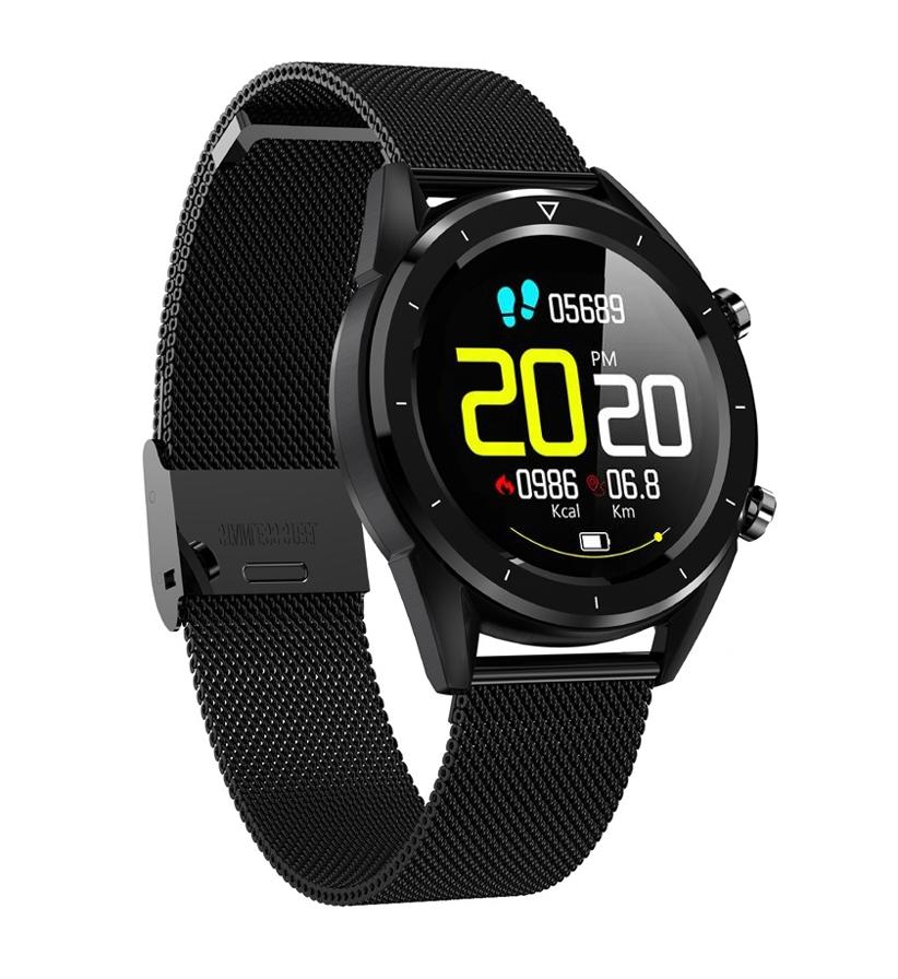 Zegarek Ciśnieniomierz SmartWatch EKG BAROMETR PL