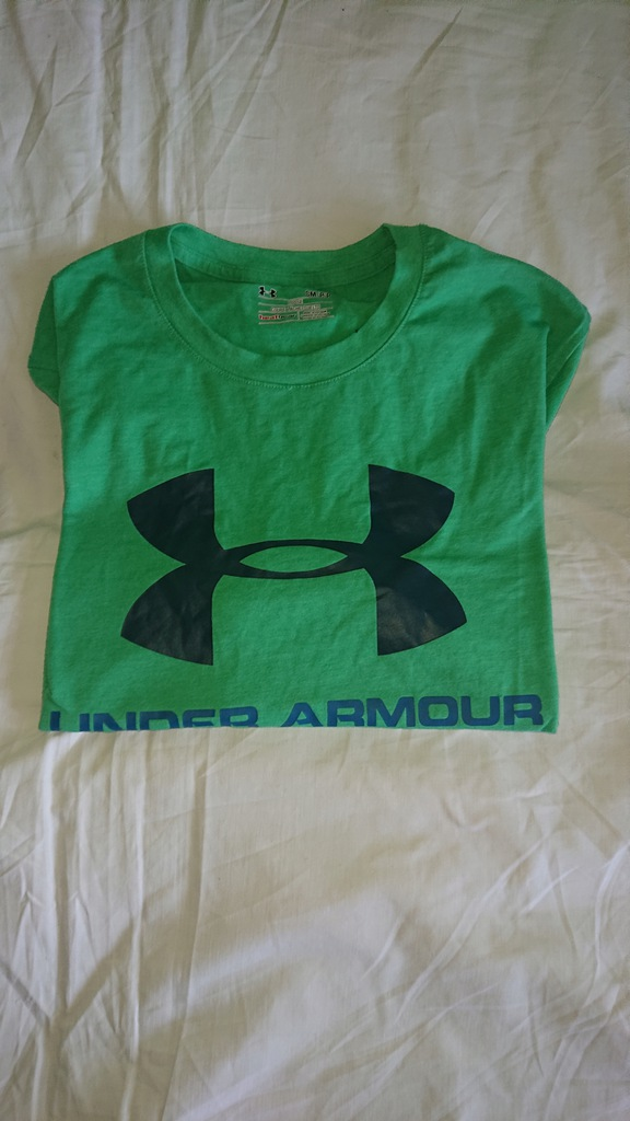 Under Armour heat gear koszulka bawelniana s/m