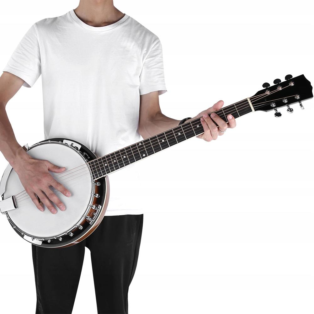 Banjo Banjo 6-strunowe Instrument banjo 105cm*15cm