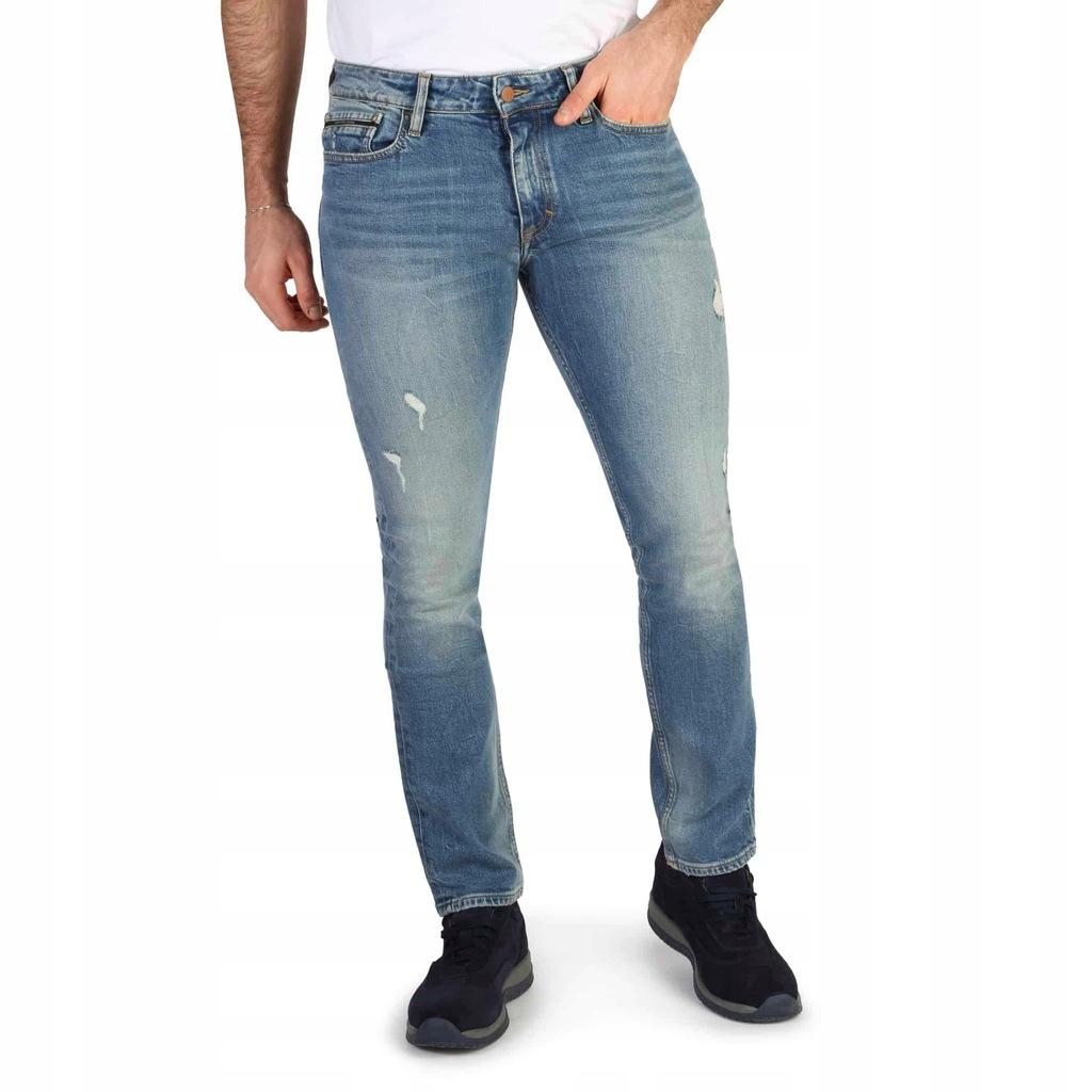 Spodnie męskie dżinsy Calvin Klein-J30J305346_ 32