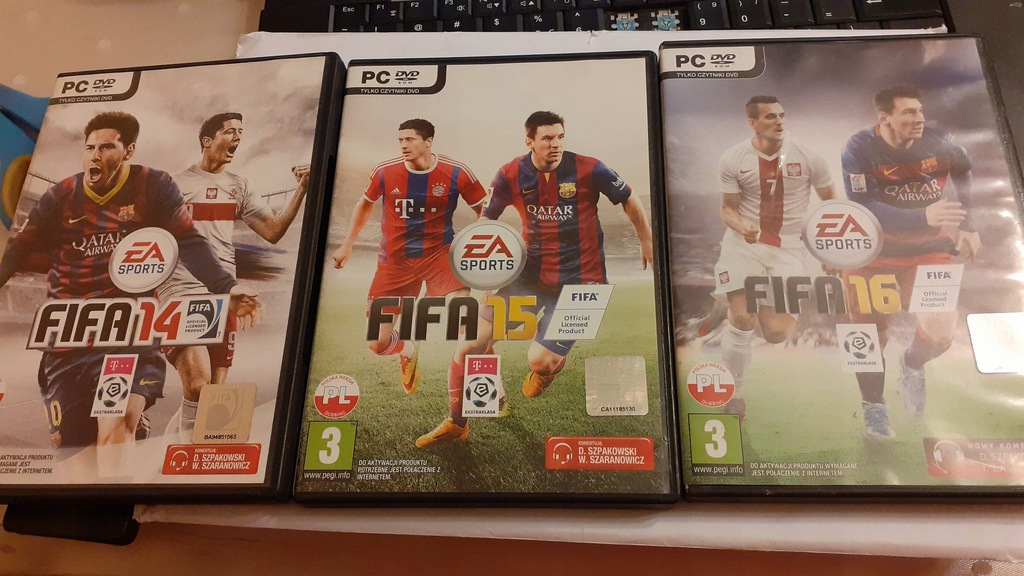 ZESTAW FIFA, 14,15,16