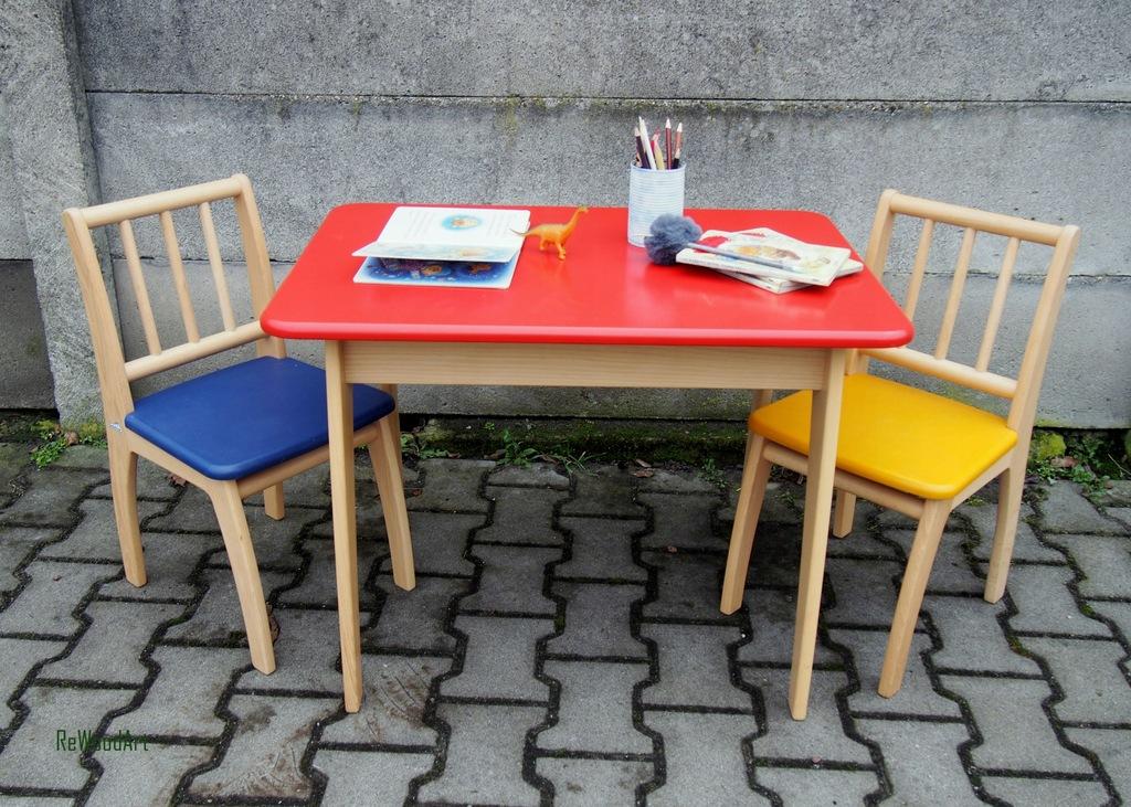 Stolik dziecięcy z krzesełkami Geuther Bambino