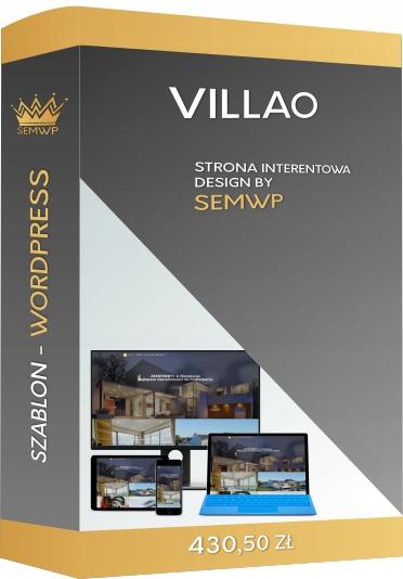 Szablon CMS WordPress Strona Internetowa Villao
