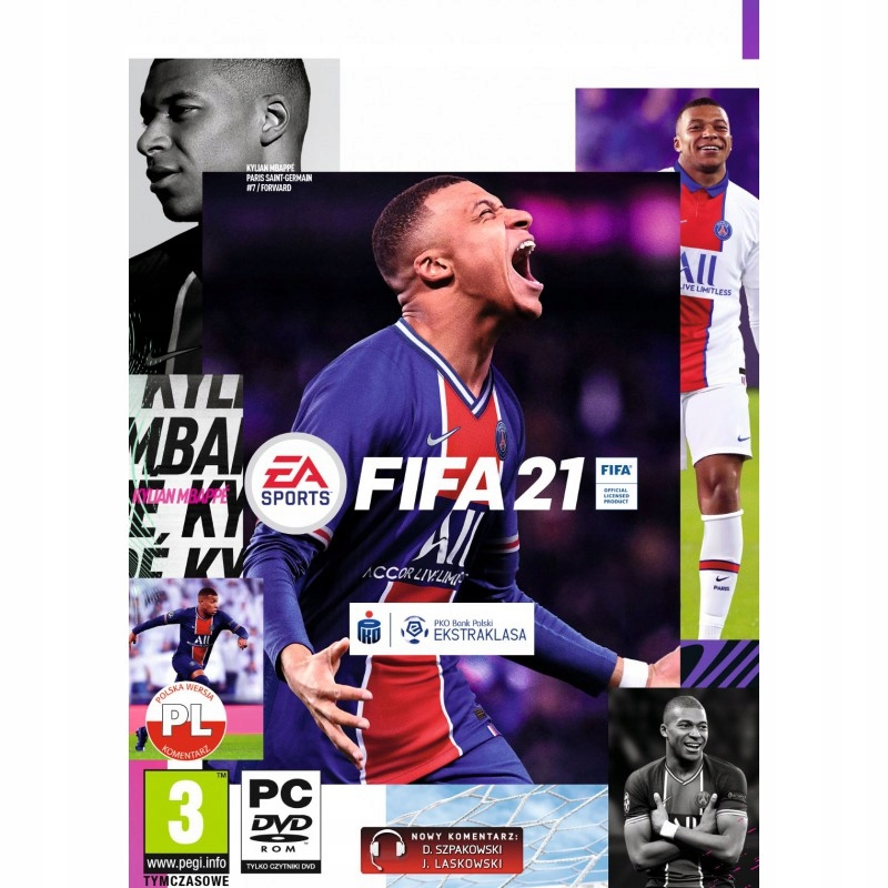 FIFA 21 - PC - PL - CYFROWY KLUCZ ORIGIN PC