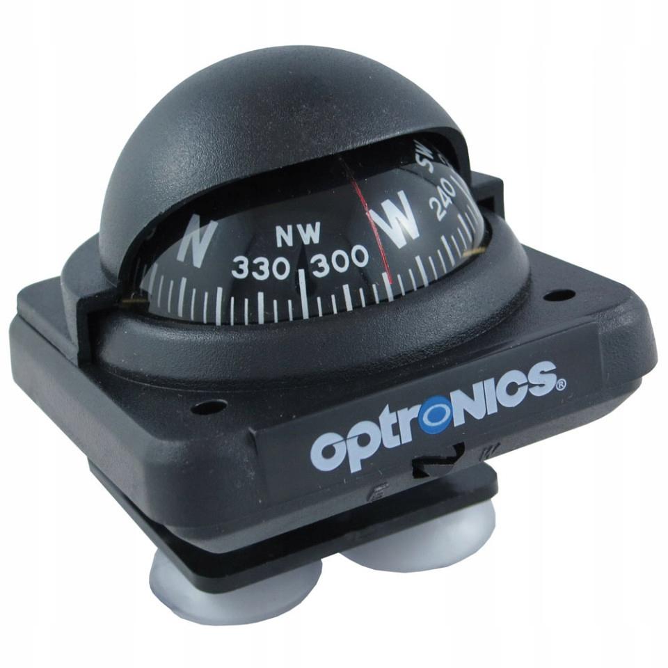 Kompas Żeglarski Pokładowy OPTRONICS czarny