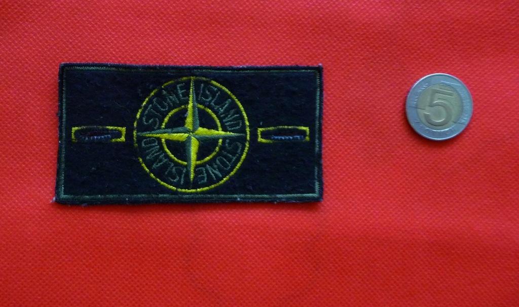 STONE ISLAND naszywka plakietka patka logo