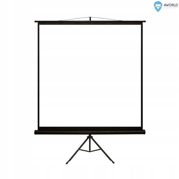 Ekran projekcyjny na statywie 152x152 (1:1)