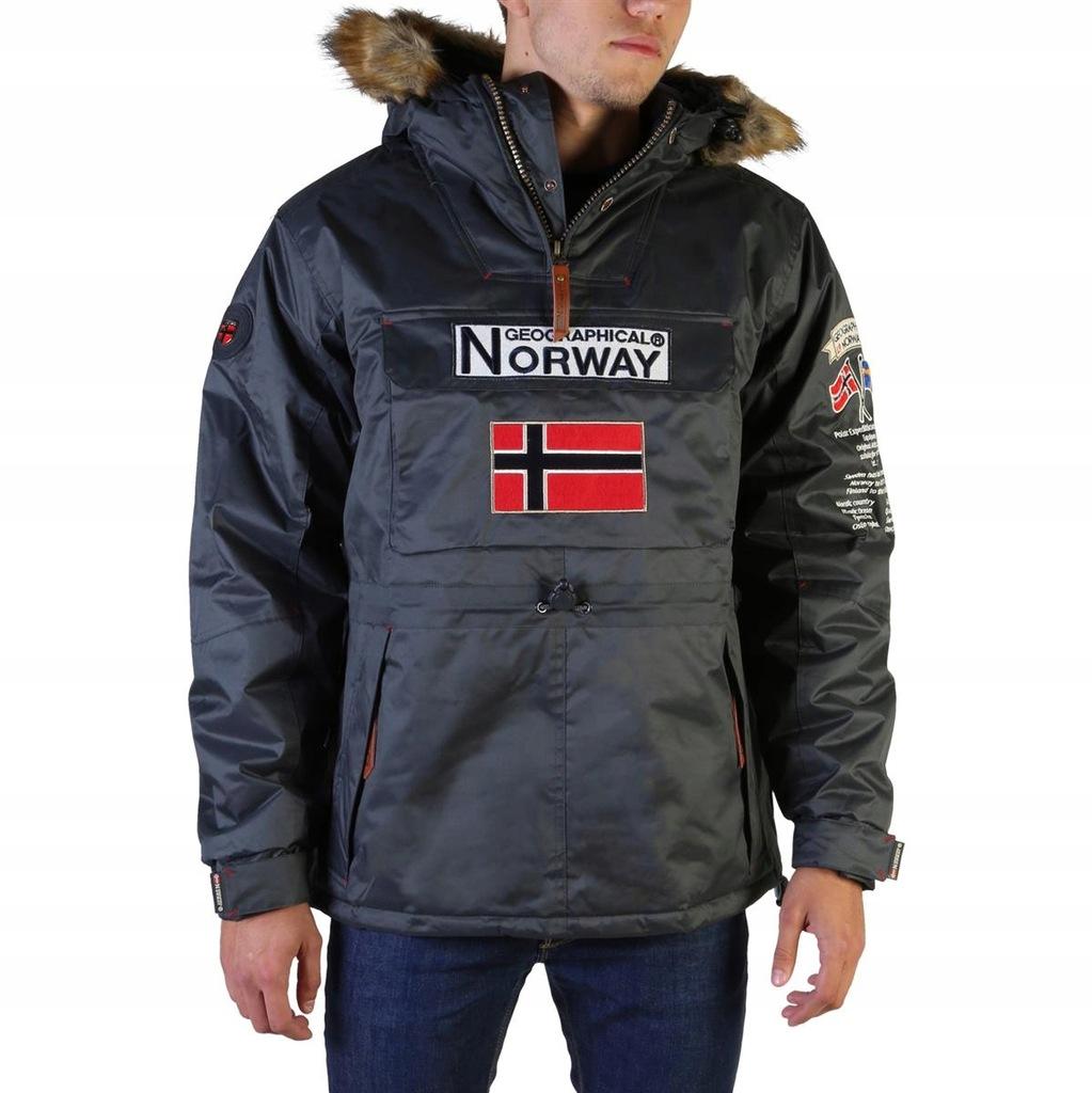 Geographical Norway kurtka męska szary XXL