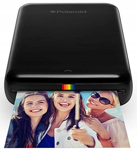 Drukarka mobilna fotograficzna Polaroid ZIP czarna