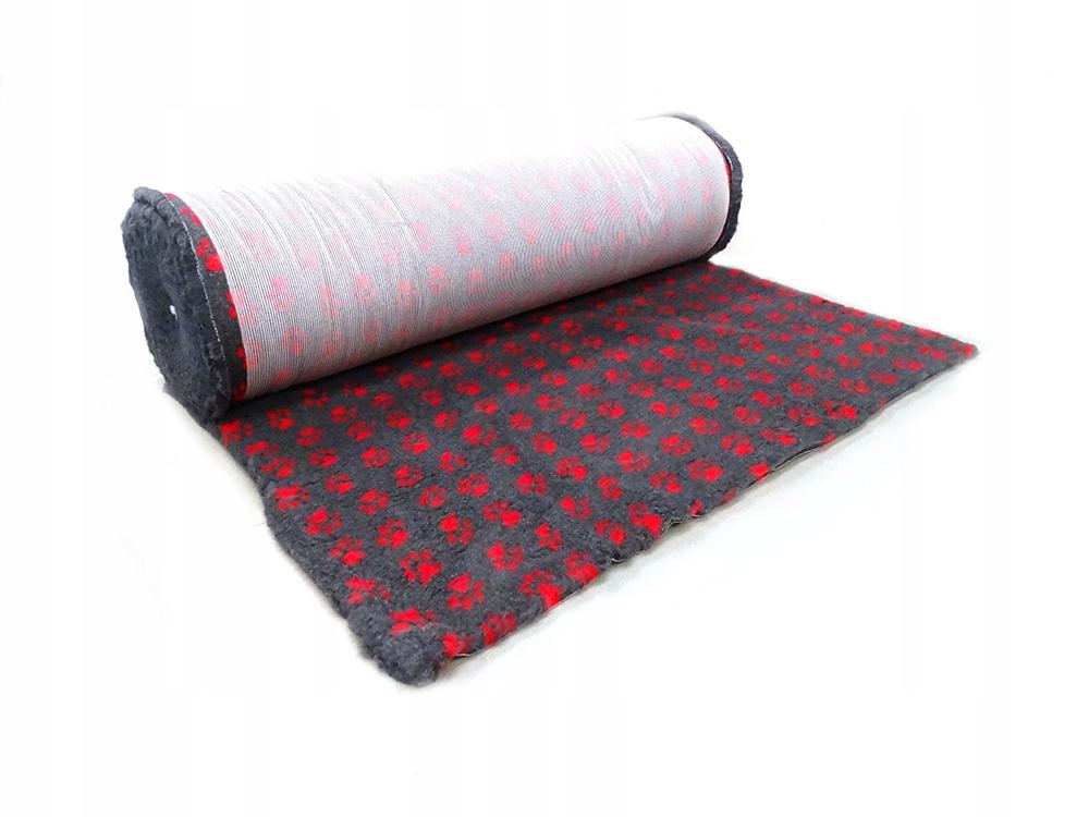 CANIFEL DryBed Posłanie(100x75) Grafitowo Czerwony