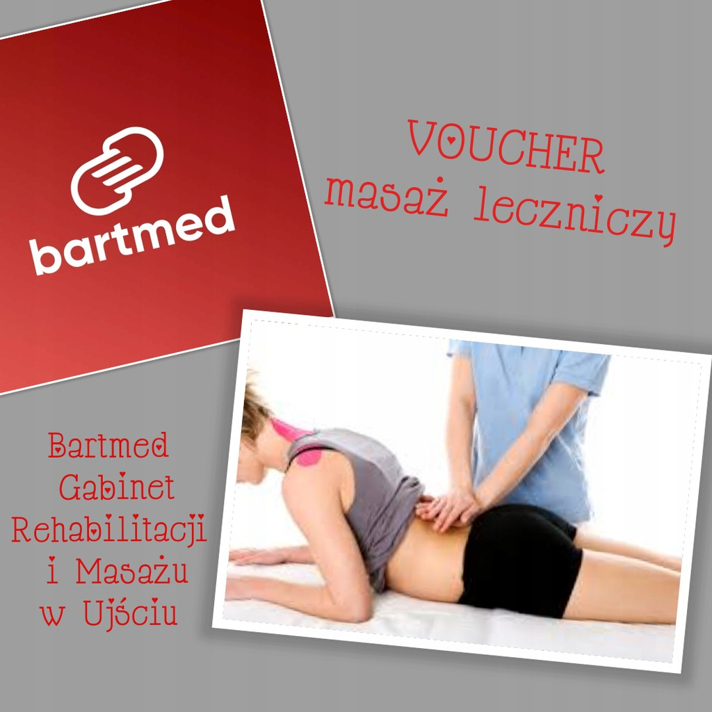40 minutowy masaż leczniczy Ujście Bartmed