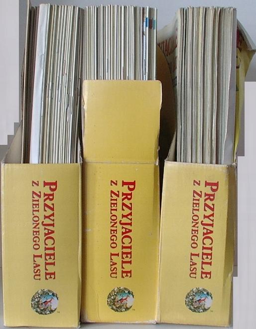 Przyjaciele Z Zielonego Lasu Zestaw 1 105 Wawa 7453816637 Oficjalne Archiwum Allegro