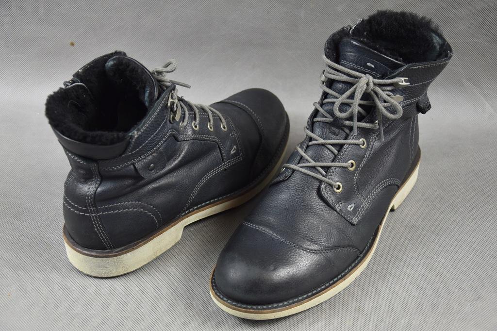 Ecco hydromax buty skórzane r.45/29,5cm