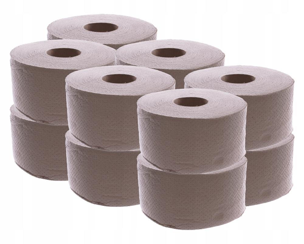 Papier toaletowy JUMBO Fi18-19 SZARY 12szt. SUPER