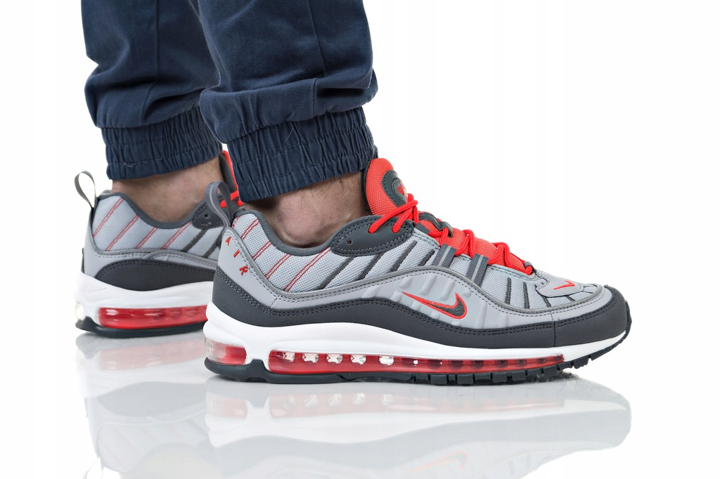 BUTY NIKE AIR MAX 98 640744 006 SZARE R. 43