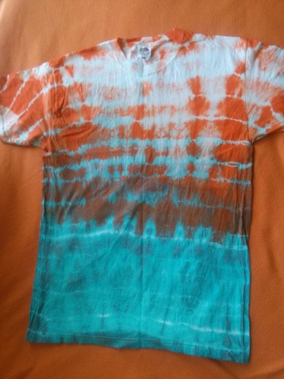 Barwiona koszulka męska M