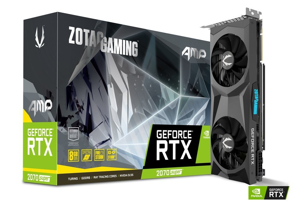 Karta graficzna GeForce RTX 2070S SUPER AMP 8GB