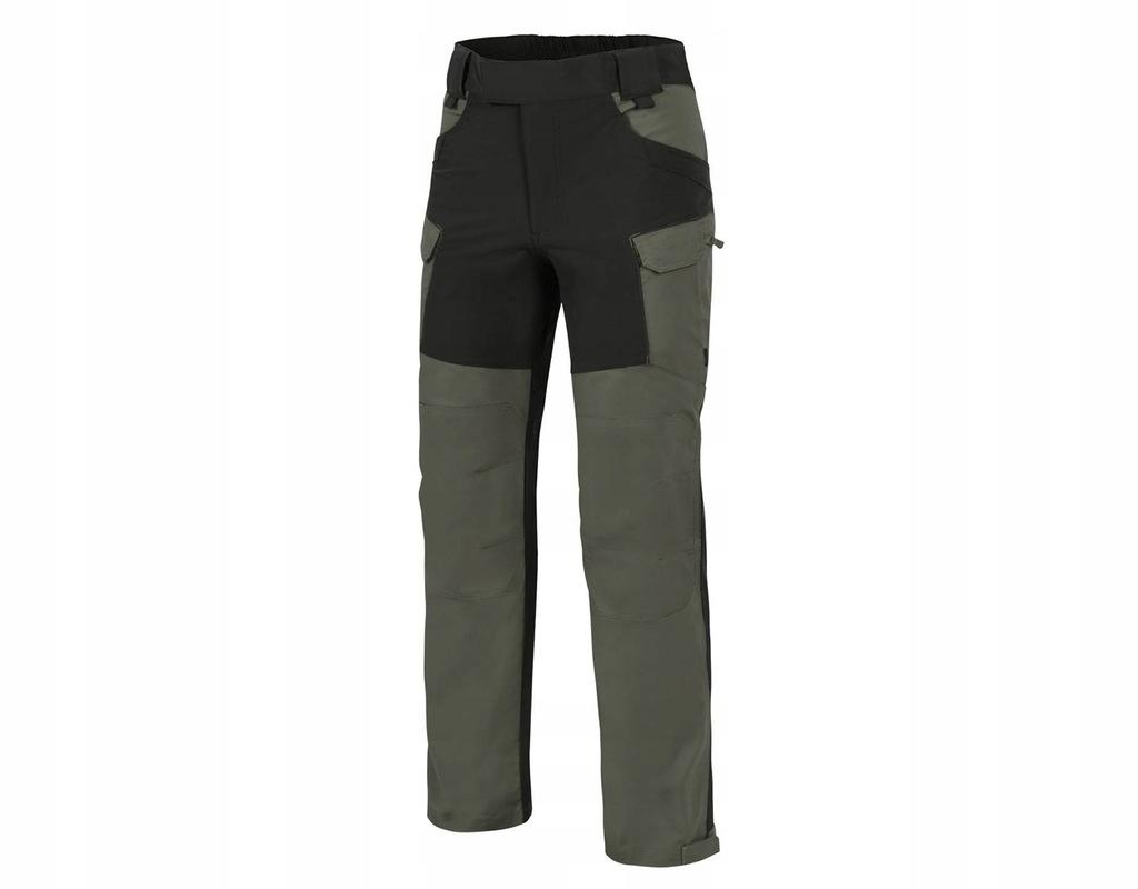 Spodnie Helikon Hybrid Outback Green/Blk 3XL Long