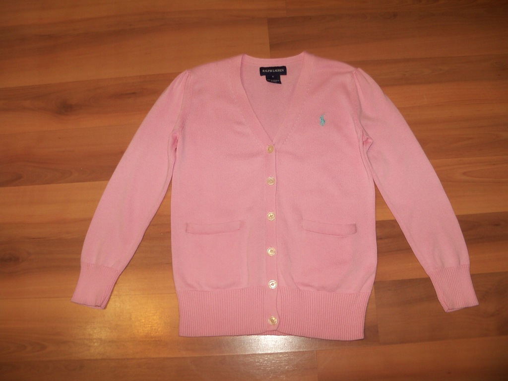 Sweterek Ralph Lauren rozm;116 cm