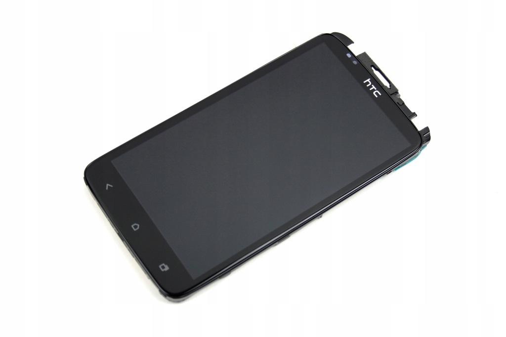 DIGITIZER WYŚWIETLACZ LCD RAMKA HTC ONE X S720E