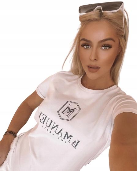Bluzeczka LM Label White UNI