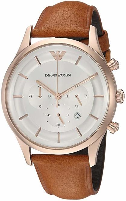 Zegarek EMPORIO ARMANI AR11043 męski skórzany