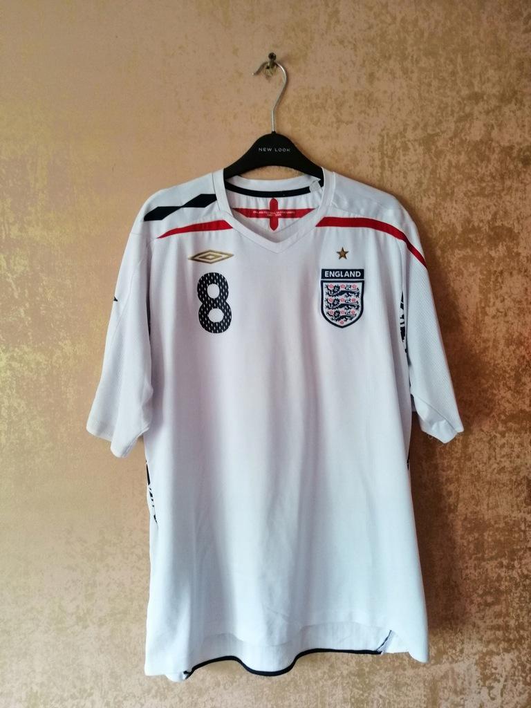 Koszulka Piłkarska Anglia Home 2007/2009 Umbro XXL