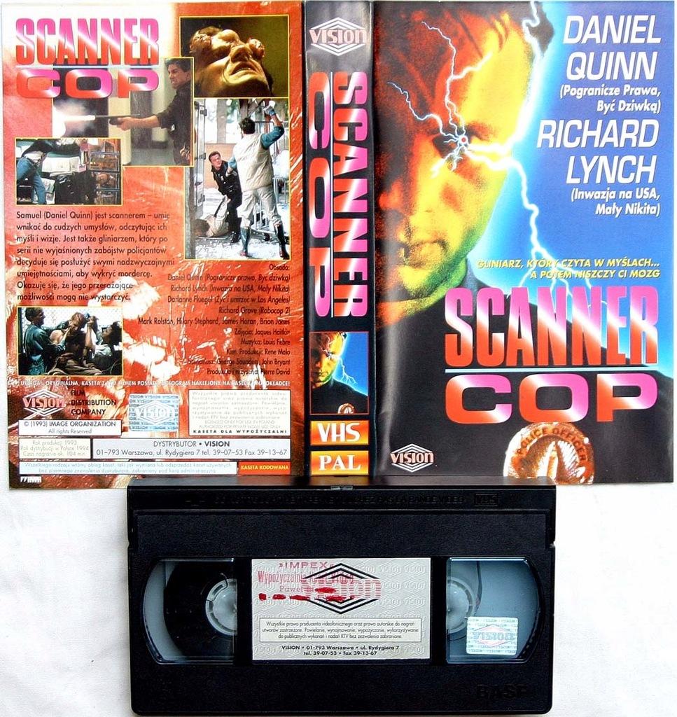 Scanner Cop - VHS