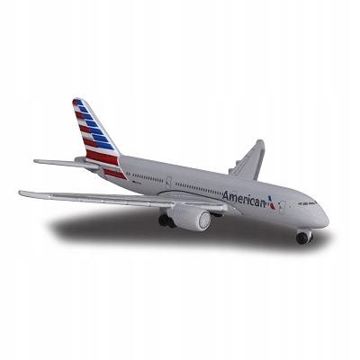 Metalowy samolot dla dzieci Majorette Boeing 787-9